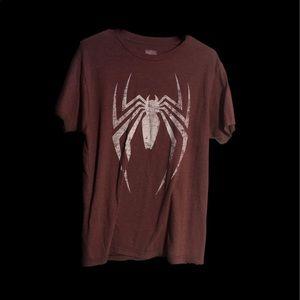 MARVEL Size Medium Spiderman Shirt